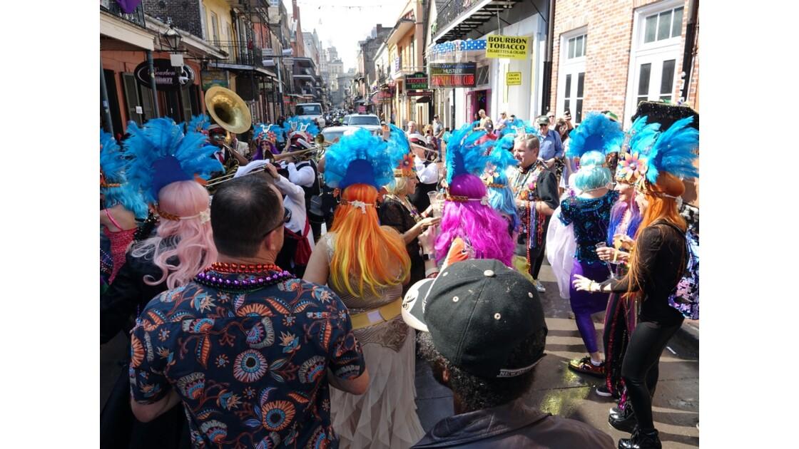 New Orleans Bourbon Street Jazz Parade 2