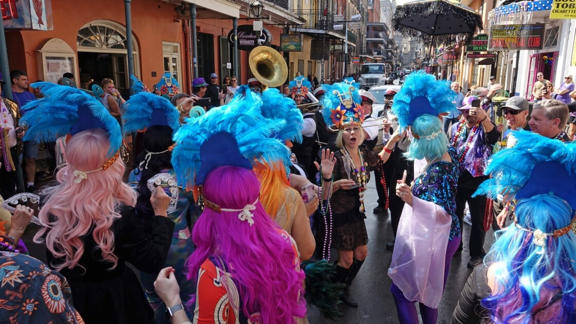 New Orleans Bourbon Street Jazz Parade 3