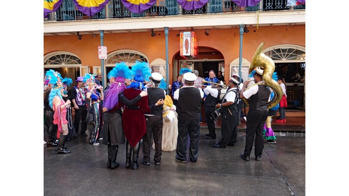 New Orleans Bourbon Street Jazz Parade 7