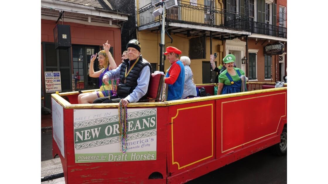 New Orleans Bourbon Street Parade 1