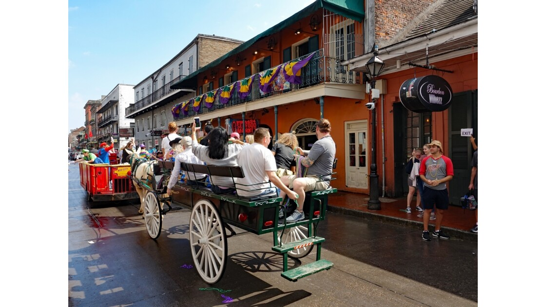 New Orleans Bourbon Street Parade 2