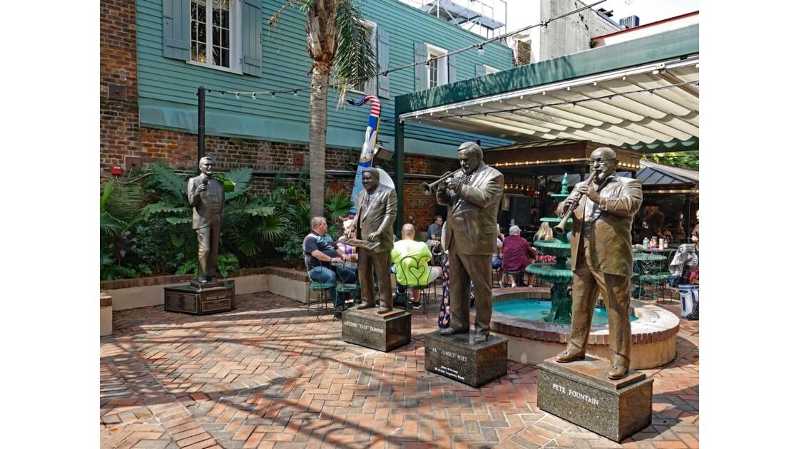 New Orleans Bourbon Street Musical Legends Park 2