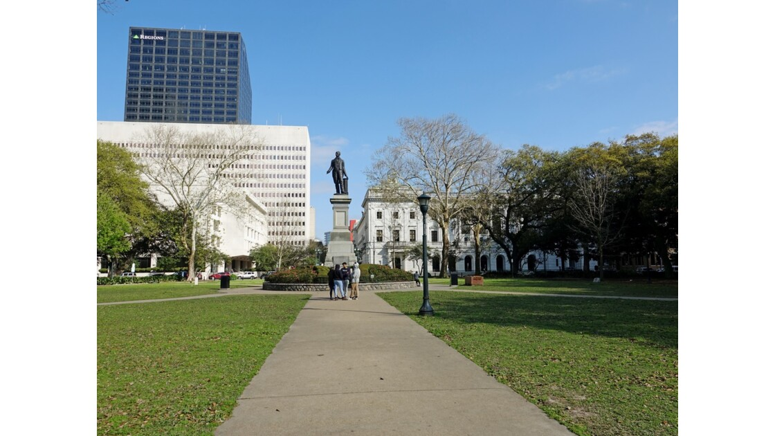 New Orleans Central Business District Lafayette Square 1