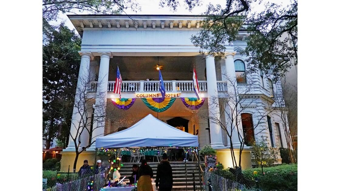 New Orleans Garden District Carnaval au Columns Hotel