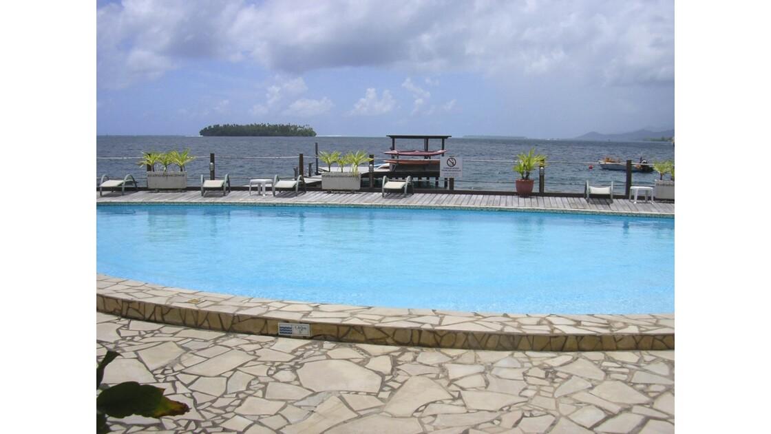 Les piscines à Raiatea