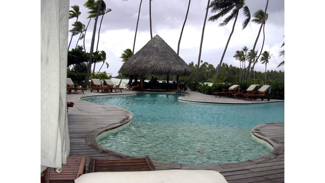 Les piscines à Tahaa
