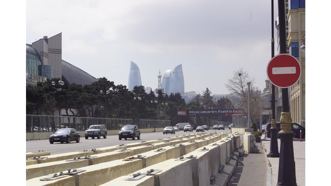 Voitures et Formule 1 à Baku