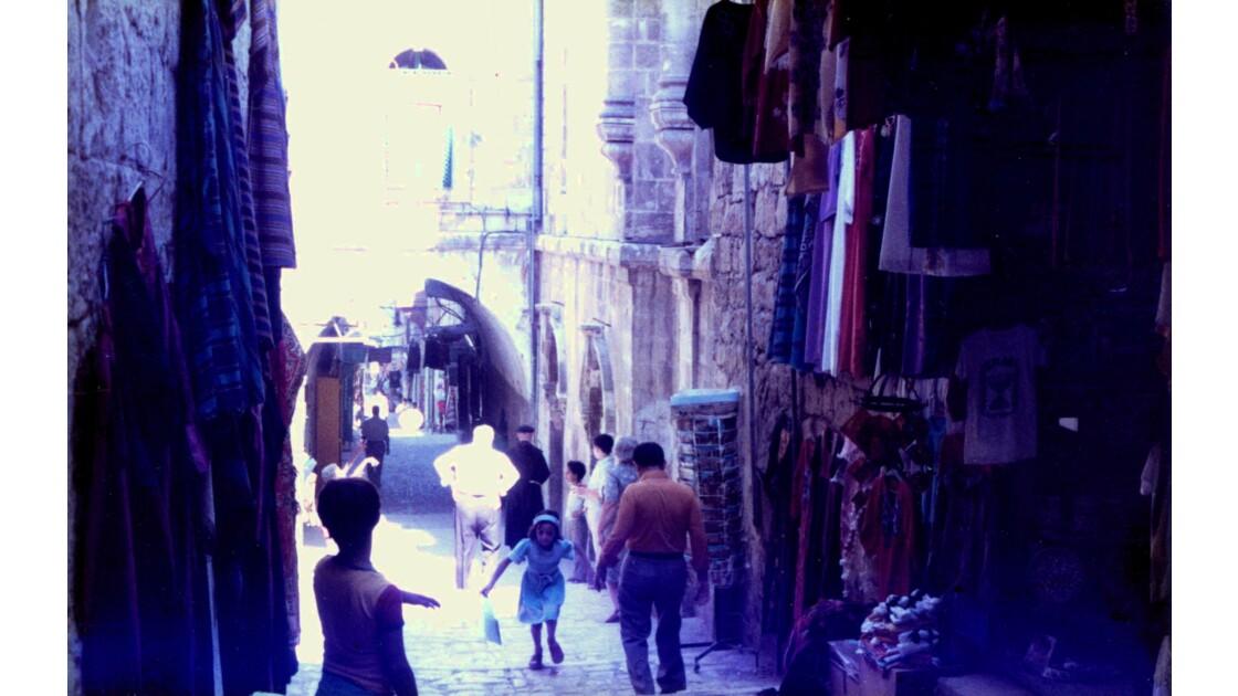 Le marché de Jérusalem