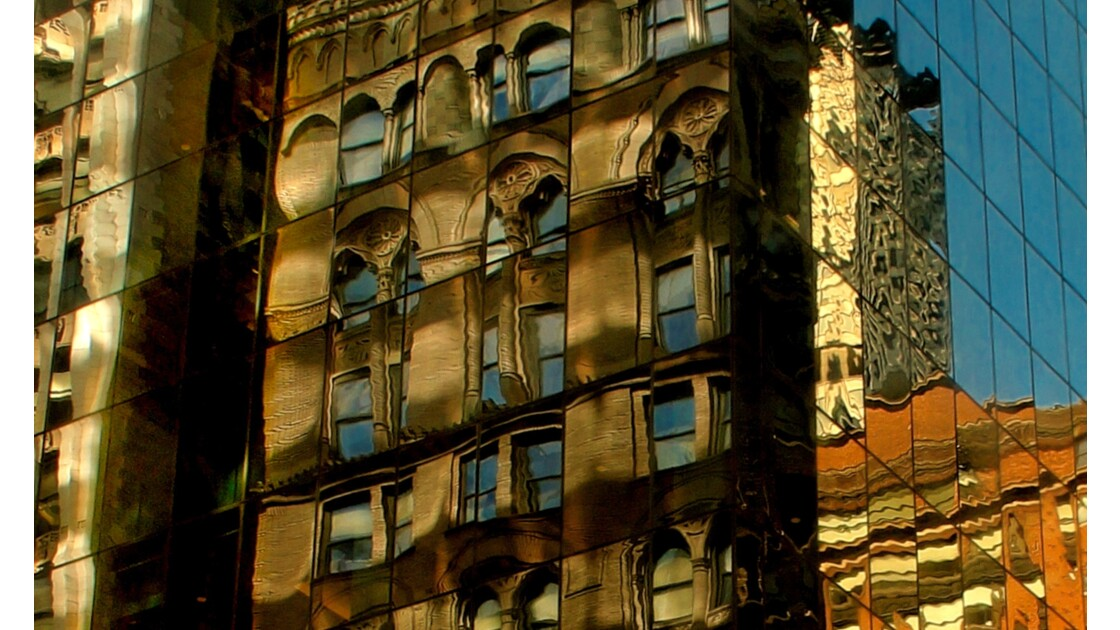 Manhattan couleurs et rayures