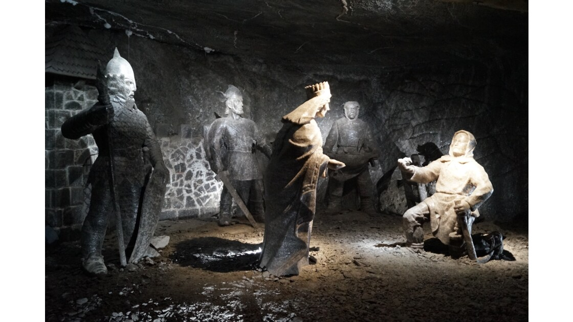 Wieliczka - mine de sel I