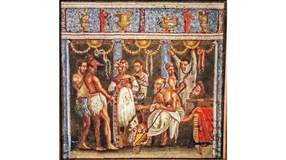 NAPLES musée mosaïques