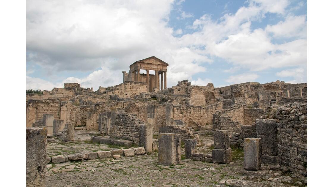 Le site Archéologique de Dougga Tunisie