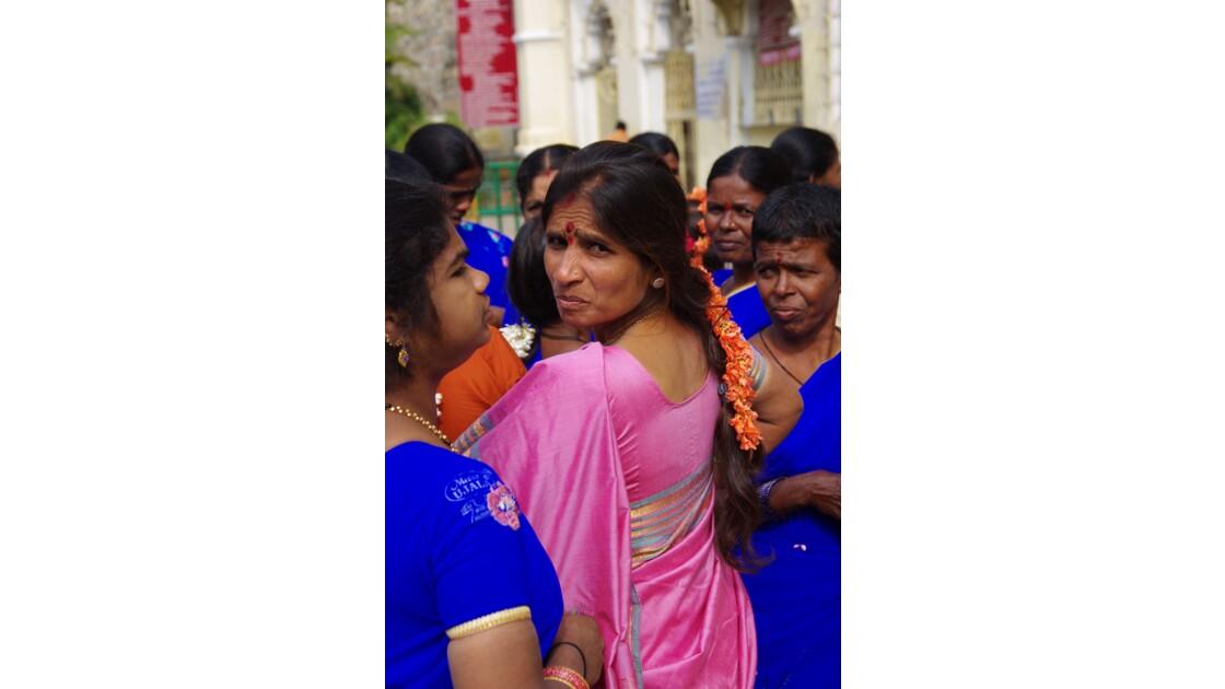 Elegance des femmes indiennes