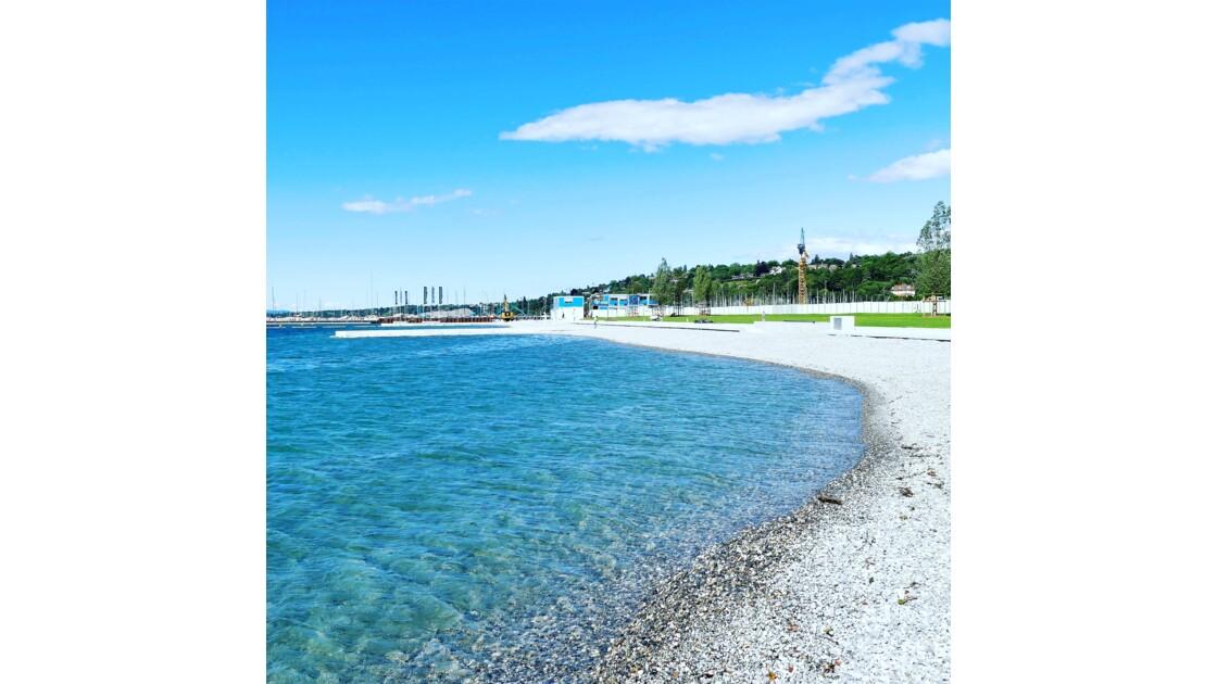 La plage des eaux vives Genève