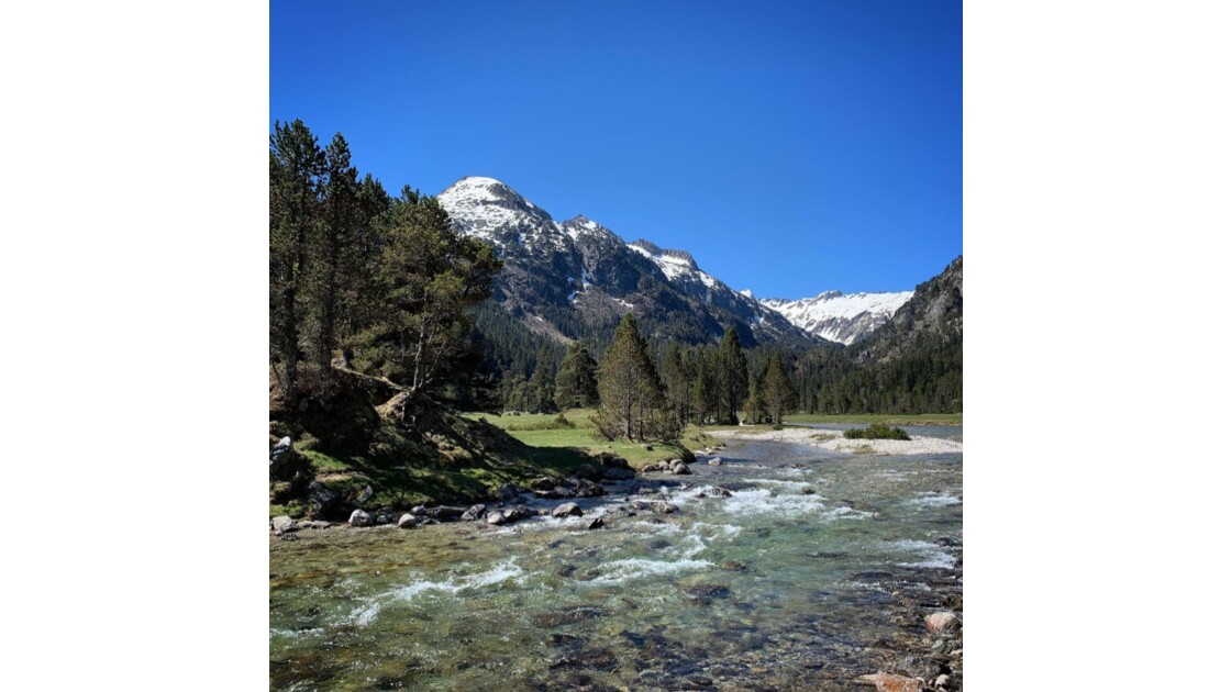 On the way to the Refuge Wallon