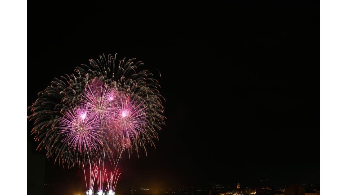 Feu  d artifice Bastia 2019