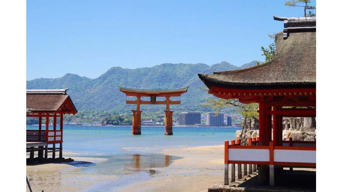 sanctuaire d'Itsukushima, japon