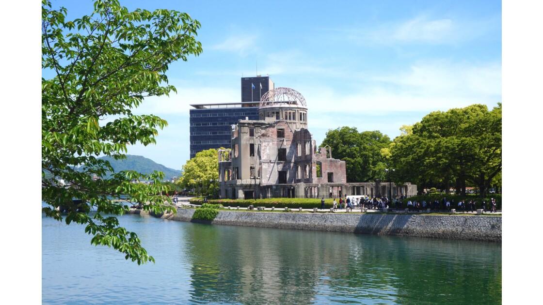 Dôme d'Hiroshima, japon