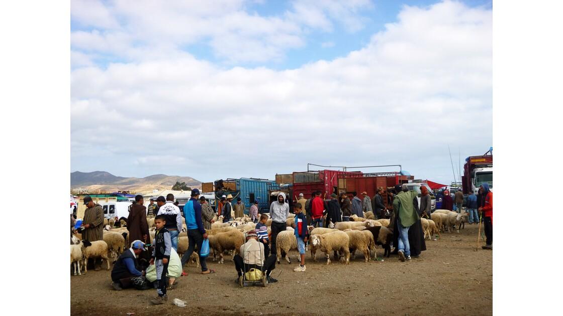 Marché de Oued Laou Maroc