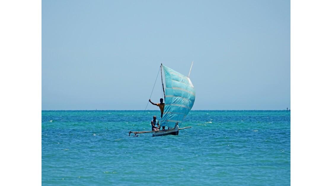 Madagascar Port de pêche d'Ifaty 24