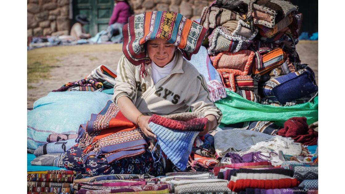 Vendeuse péruvienne