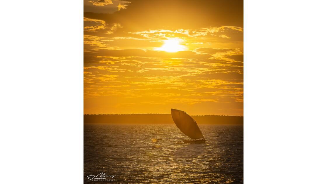 Coucher de soleil à Madagascar