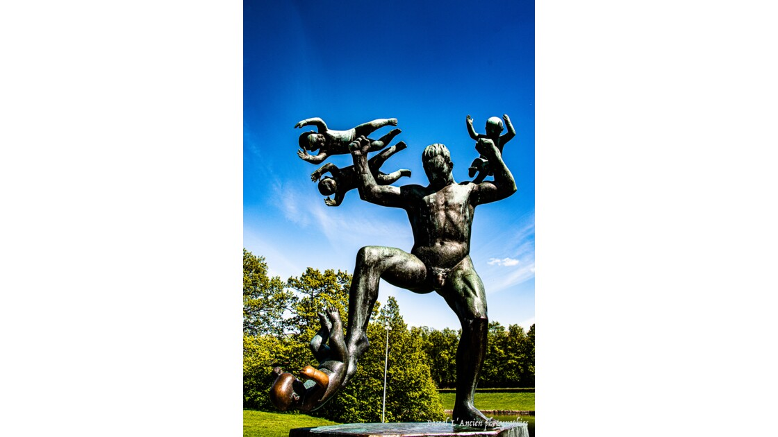 Parc de sculptures Vigeland
