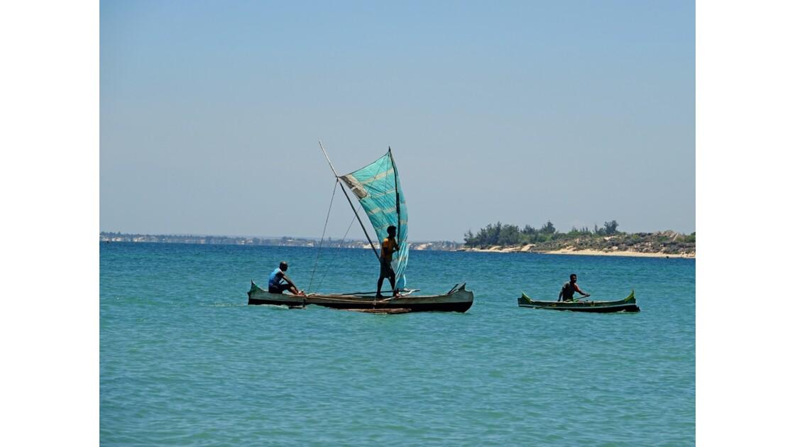 Madagascar Port de pêche d'Ifaty 28
