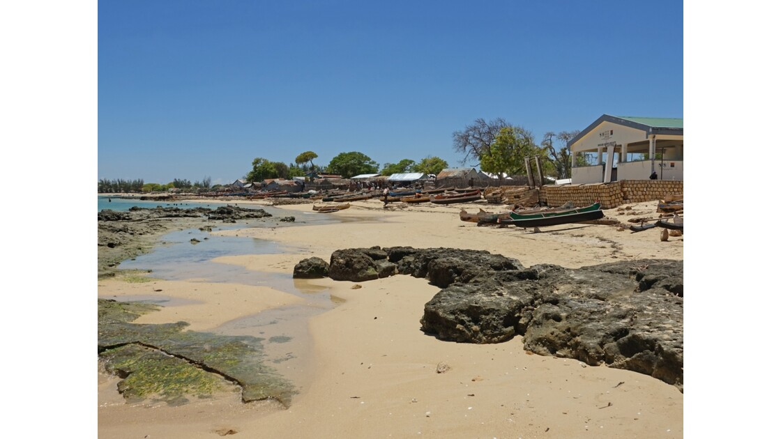 Madagascar Port de pêche d'Ifaty 33