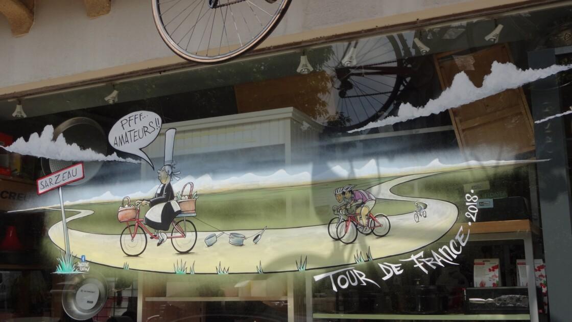 Sarzeau à l'heure du Tour de France