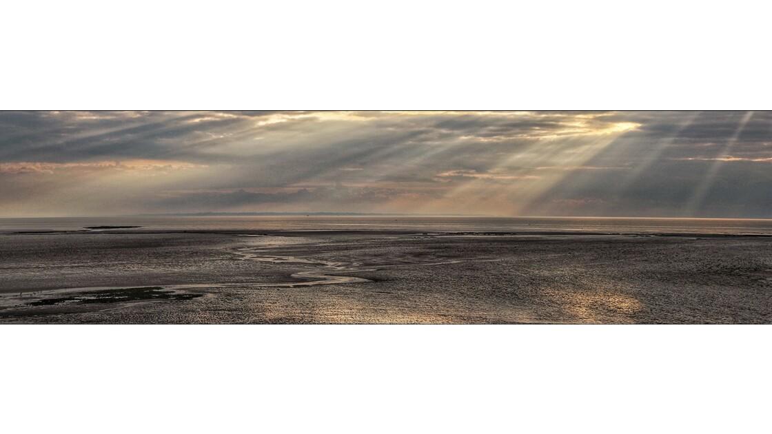Lumières plage de Granville