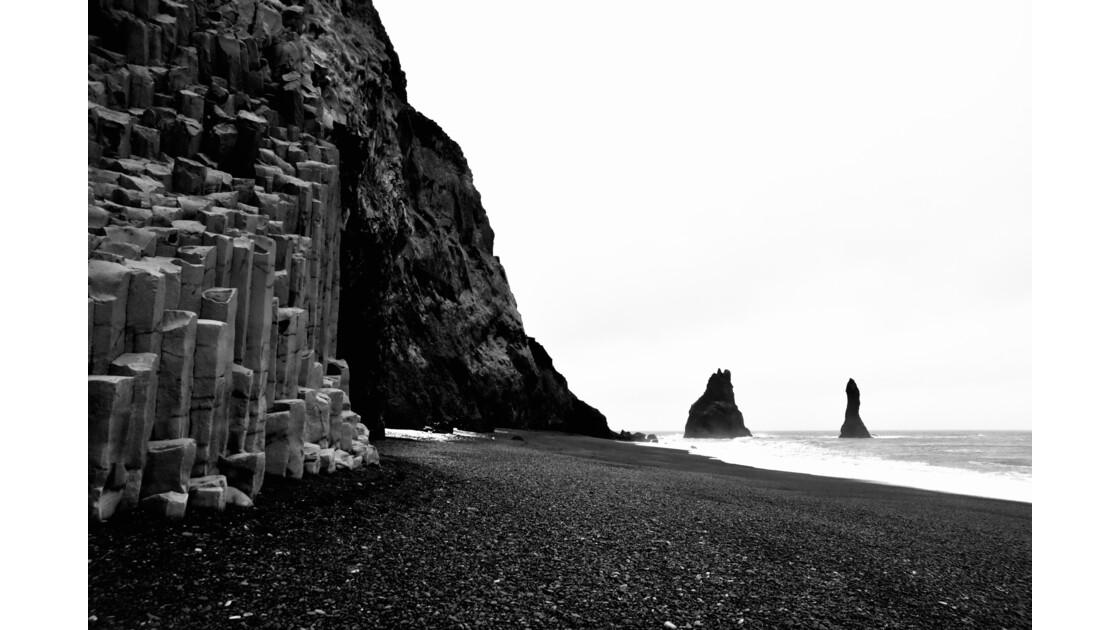 On a marché sur la lune,Plage de Vik, Islande