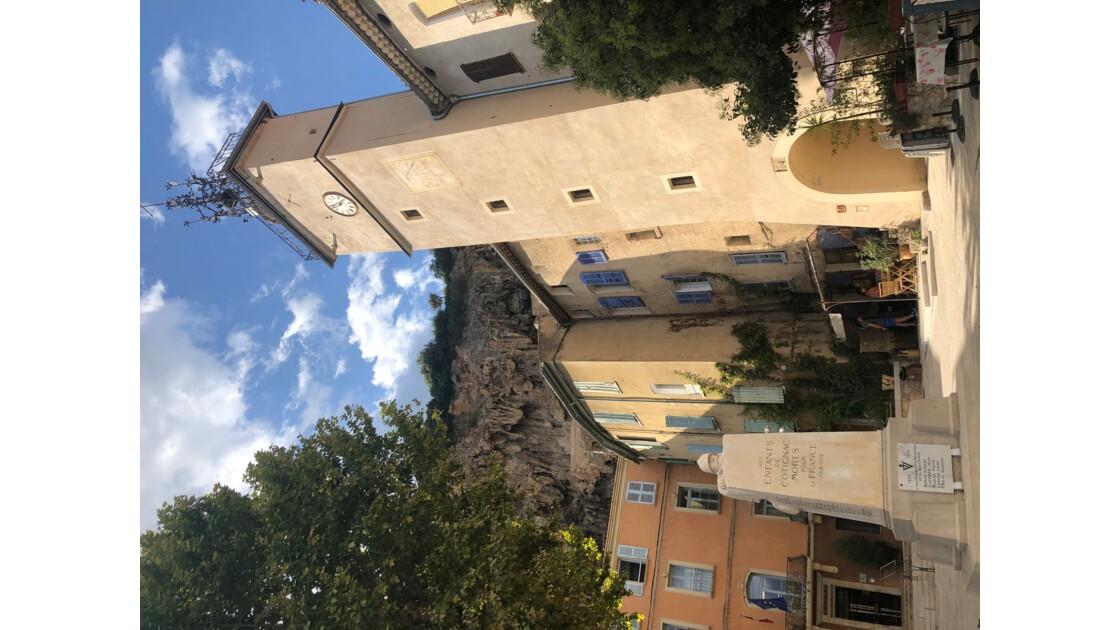 Fin d'été à Cotignac (Var)