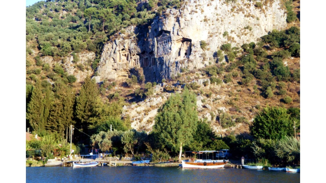 Tombes des rois à Caunos