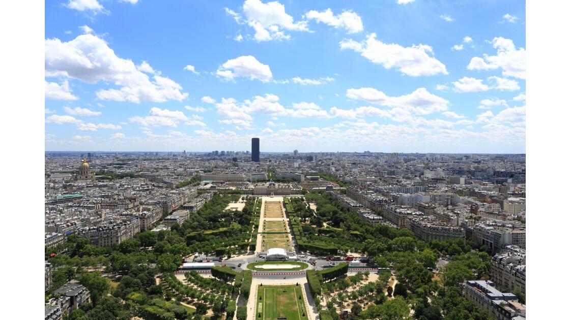 Paris vue de la Tour Eiffel