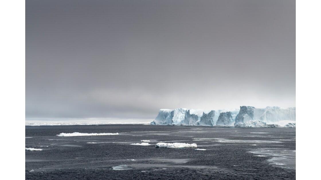 en route vers l'Antarctique