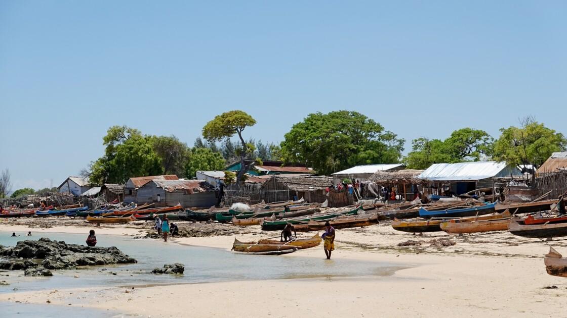 Madagascar Port de pêche d'Ifaty 35