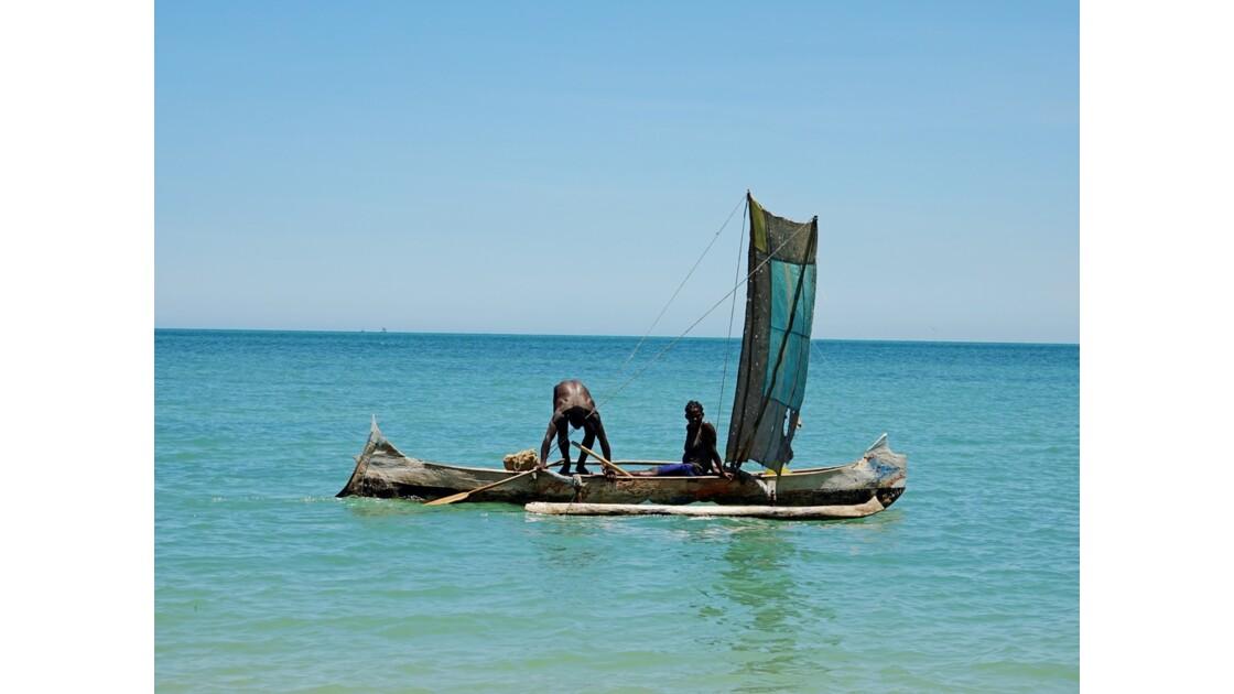 Madagascar Port de pêche d'Ifaty 30