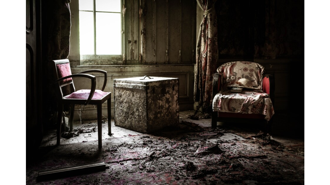 URBEX - Chambre rouge