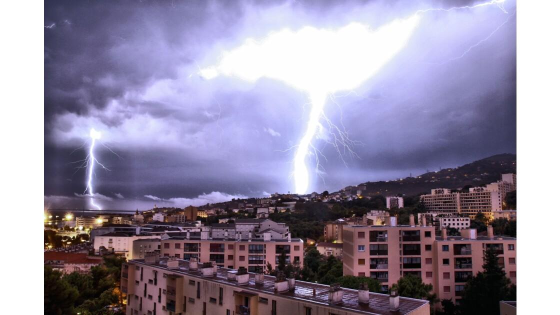 La Foudre sur Bastia