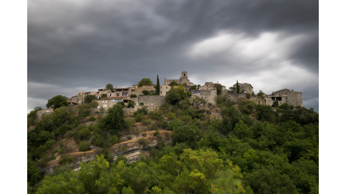 Village de Saint-Thomé en Ardèche