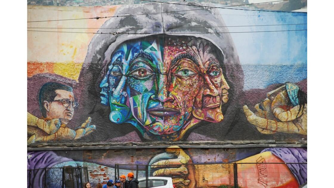 Street art de Valparaiso