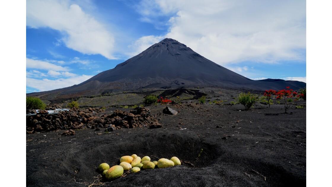 Volcan le Grand Pico ile de Fogo Cap vert