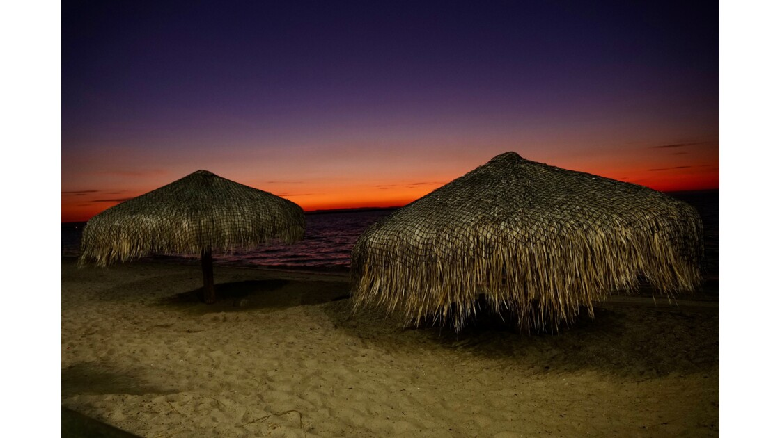 Coucher de soleil sur le Malecon