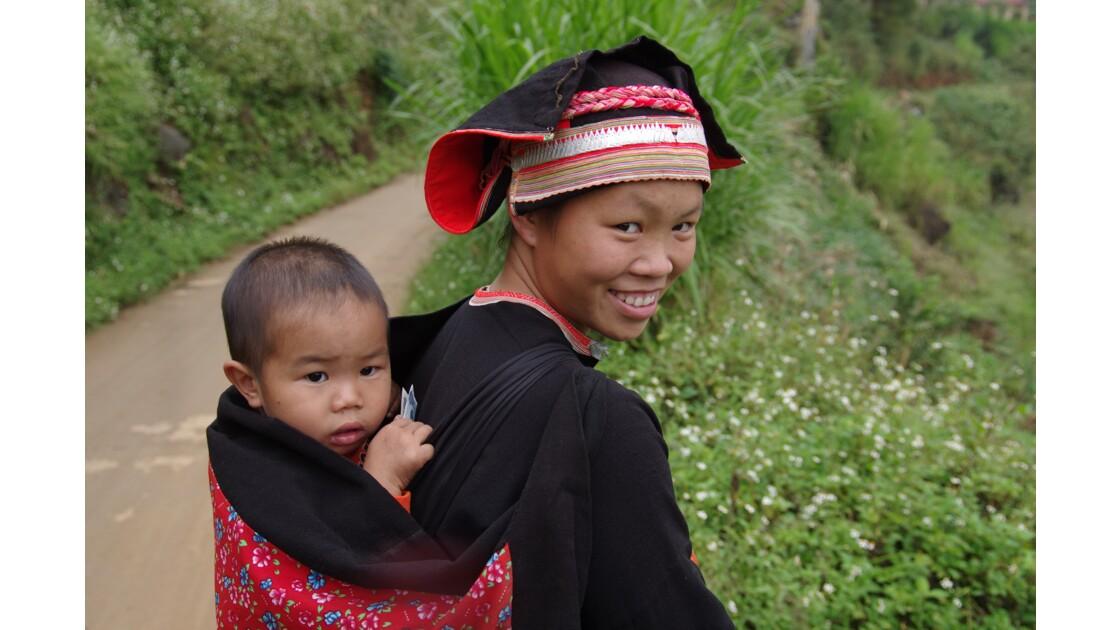 Sourire de femme nord Vietnam