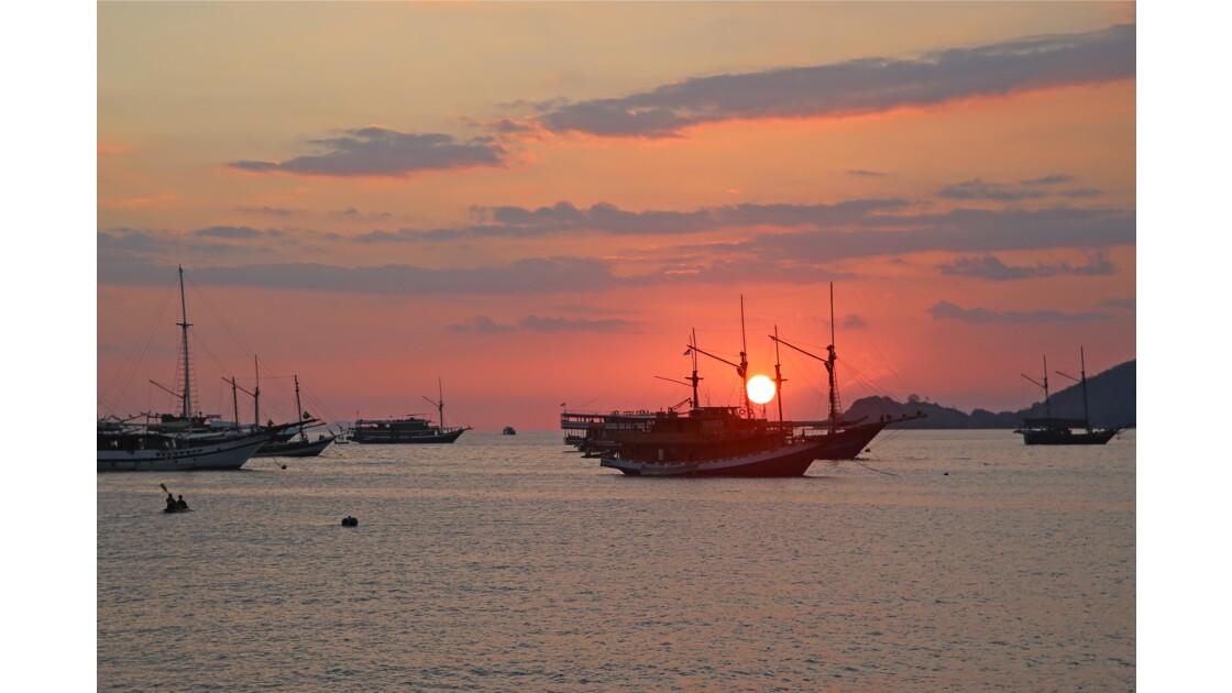 Sunset à Labuan Bajo