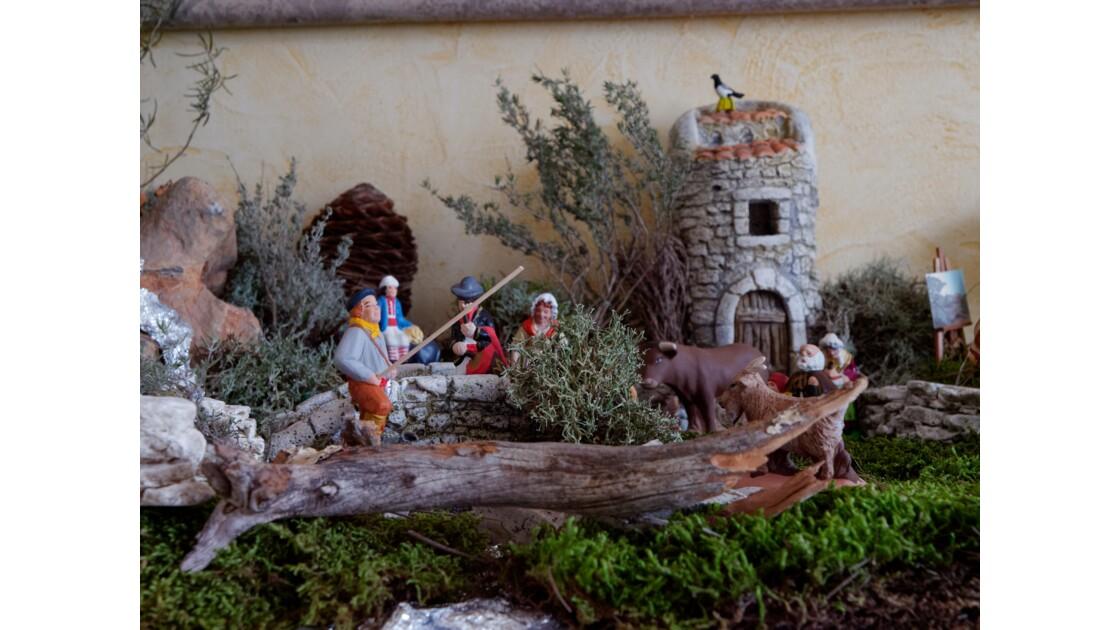 Crèche provençale Noel 2019