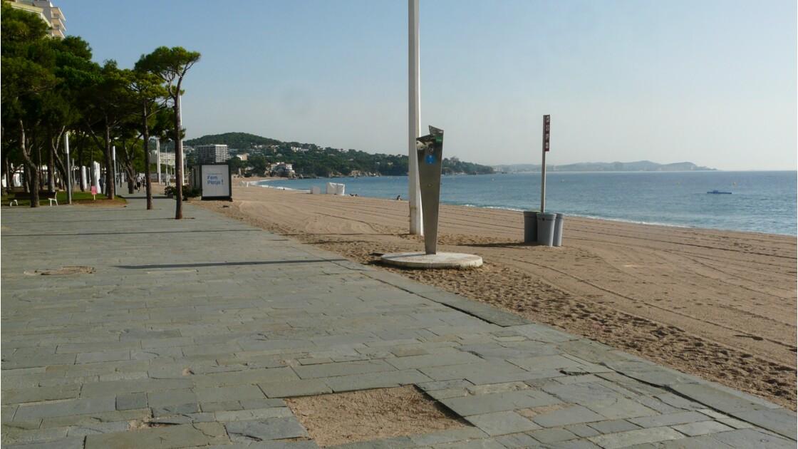 La plage de Playa de Aro