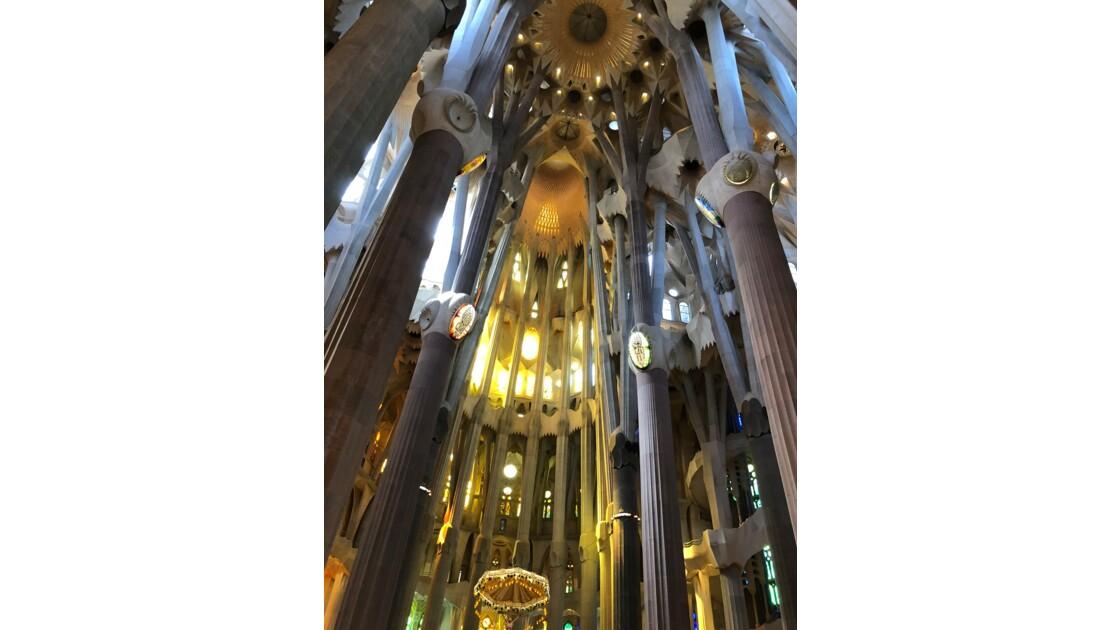 La Sagrada Familia juin 2017