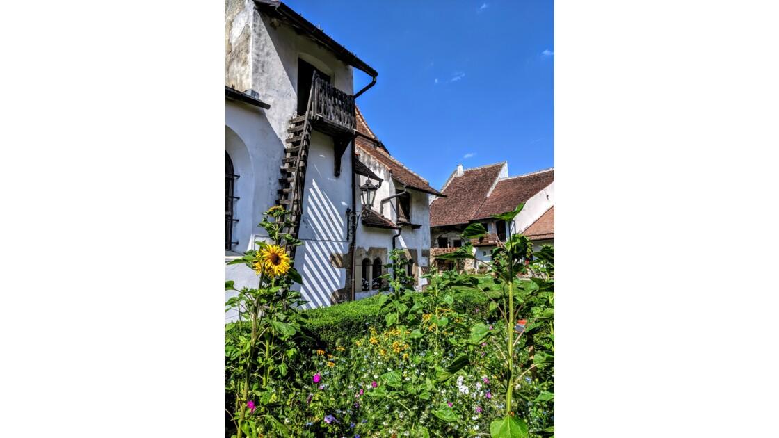 Transylvania Saxon villages